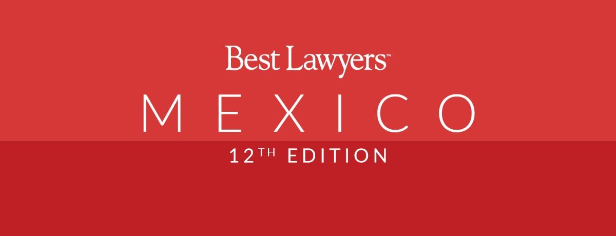 """VGA es reconocida por segundo año consecutivo en """"Best Lawyers"""""""