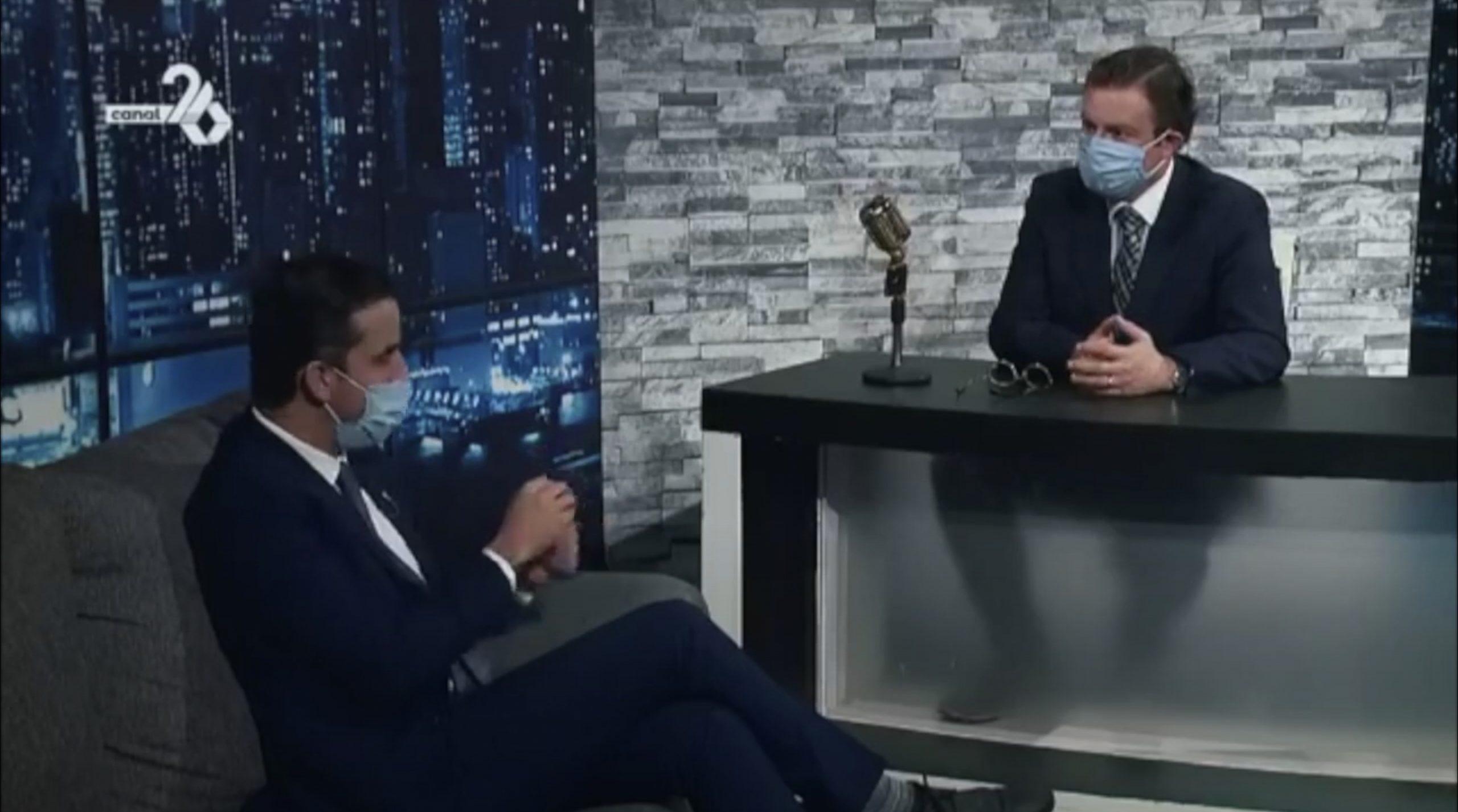 """Reforma Laboral, Home Office y Outsourcing – Entrevista Oziel Guerrero """"En Vivo Con Chema"""""""